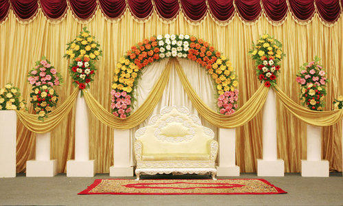 Service Provider Of Wedding Stage Decoration Service Event