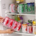 Refrigerator Organizer Coke Bear & Soda Storage Box
