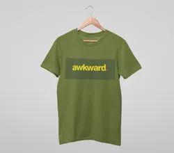 Cotton Awkward Custom T-Shirts