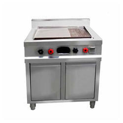Stainless Steel Induction Commercial Kitchen Hot Plate, For Dosa & Chapatti Cooking