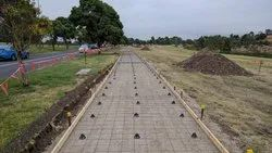 Center Line,Edge Line Footpath Construction, in Pan India, Lucknow