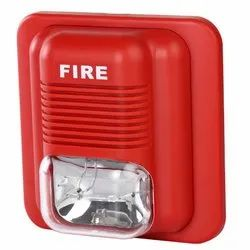 Plastic Red Ravel RE-25SS Fire Alarm System
