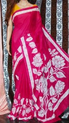 Casual Wear Mulmul Cotton Printed Saree without Blouse, 5.5 M (separate Blouse Piece)