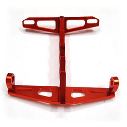 Xtremz CNC Aluminum Tail Tidy - Red Color