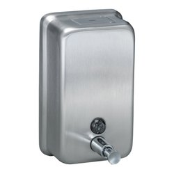 Manual Stainless Steel Soap Dispenser