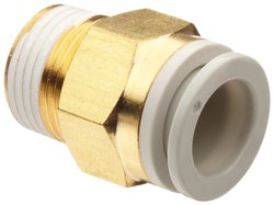 SMC One-Touch Instant Fittings, 10bar, Size: 4mm to 16mm OD Tube