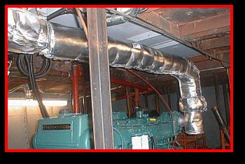 Generator Silencer Pipe Insulation