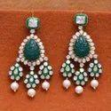 Designer Polki Fine Dangler Earring