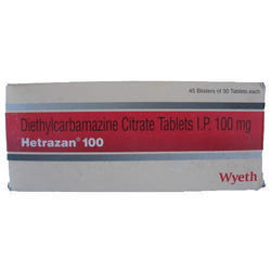 Diethylcarbamazine Citrate Tablets IP