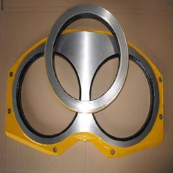 Spectacle Wear Plate For Concrete Pump