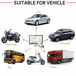 Wired Plastic Vehicle GPS System, Available Accessories: Relay, Screen Size: 3.5 Inch