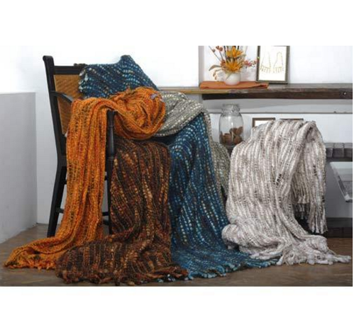 Home Furnishings - Handloom Chunky Throws Manufacturer from Ludhiana