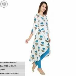 Cotton Floral Kurta