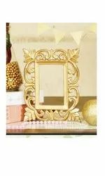 Rectangle golden MDF Photo Frame, Packaging Type: Box Packing, for Gift