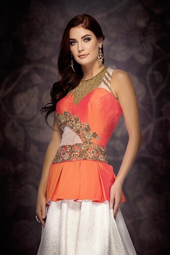 Partywear Gown Party Wear Gown Manufacturer From New Delhi