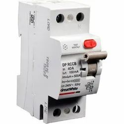40 A 240 V DP RCCB Greatwhite Electrical One Pole MCB