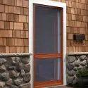 Decorative Wooden Net Door