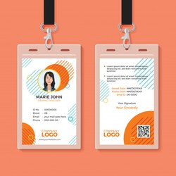 PVC Double Sided Smart ID Cards, Shape: Square