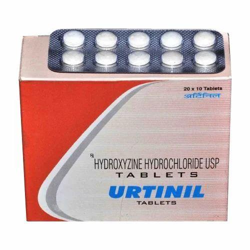 Dermatological Medicines - Hydroxyzine Tablet OEM
