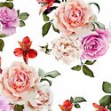 Digital Printed Floral Design Fabrics