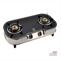 MC-255 Glass Two Burner Stove