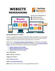 Website Redesigning Services, Thane ( Mumbai)
