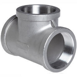 Carbon Steel Threaded Reducing Tee