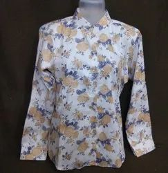 Full Casual Ladies Cotton Shirts