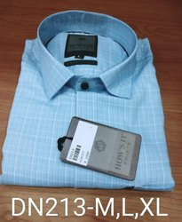 Men's Checks Cotton Shirt
