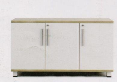 Low Height 3 Door Storage