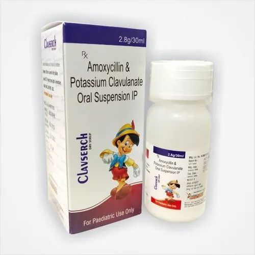 Amoxycillin & Potassium Clavulanate Oral Suspension I.P