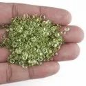 Natural Peridot with Brilliant Cut in Assortment for Jewelry Making