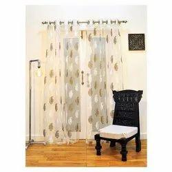 Ariana  Exotic Beige Door Curtain