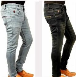 Carlo Button Men Regular Fit Jeans, Packaging Type: Packet, Waist Size: 28-36