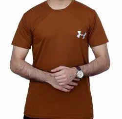 Plain Round Men Four Way T-Shirt