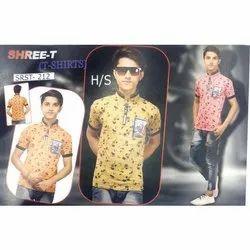 Casual Wear Shree-T Kids Boys T Shirts