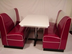 Restaurant Dining Table Set with Sofa