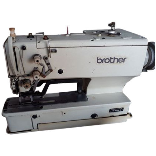 Commercial Brother Button Hole Machine At Rs 40 Unit बटन Gorgeous Brother Button Sewing Machine