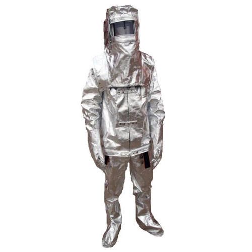 Medium And Large Silver Flame Retardant Suits
