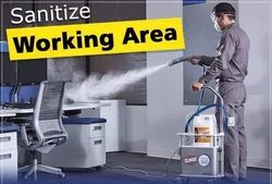 Commercial & Residential Spray Sanitizer Service
