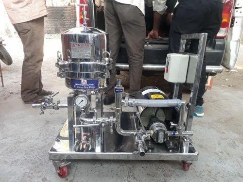 Edible Oil Filter Press Machine