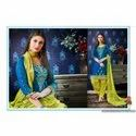 Patiala Embroidery Dress Material