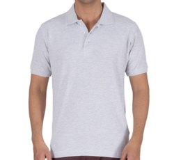 Mens T Shirt with Collar and Pocket