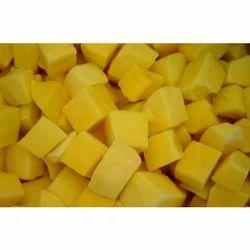Frozen Muskmelon Cubes