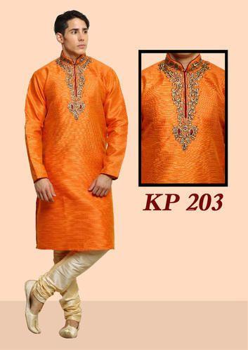 Silk Designer Kurtas For Mens Wedding Rs 1395 Piece Dot Exports