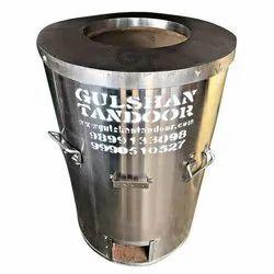 steel round drum tandoor