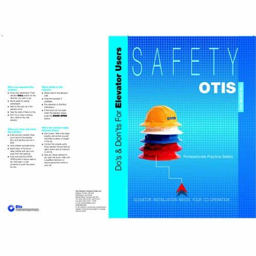 Safety Otis Brochure Printing Service in Shah Nahar Industrial