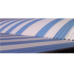 Elegant Corrugated Curved Roofing Sheet