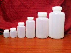 Wide Mouth HDPE Plastic Bottle