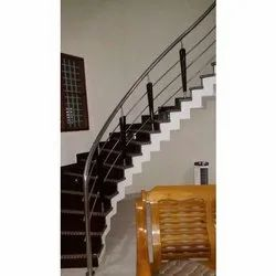 Conical Stainless Steel Staircase Railing